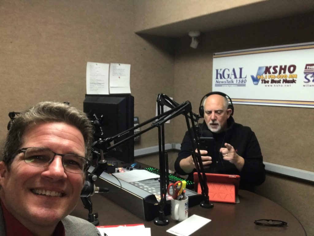 Majordomo On the Air with KGAL's Dave Pautsch
