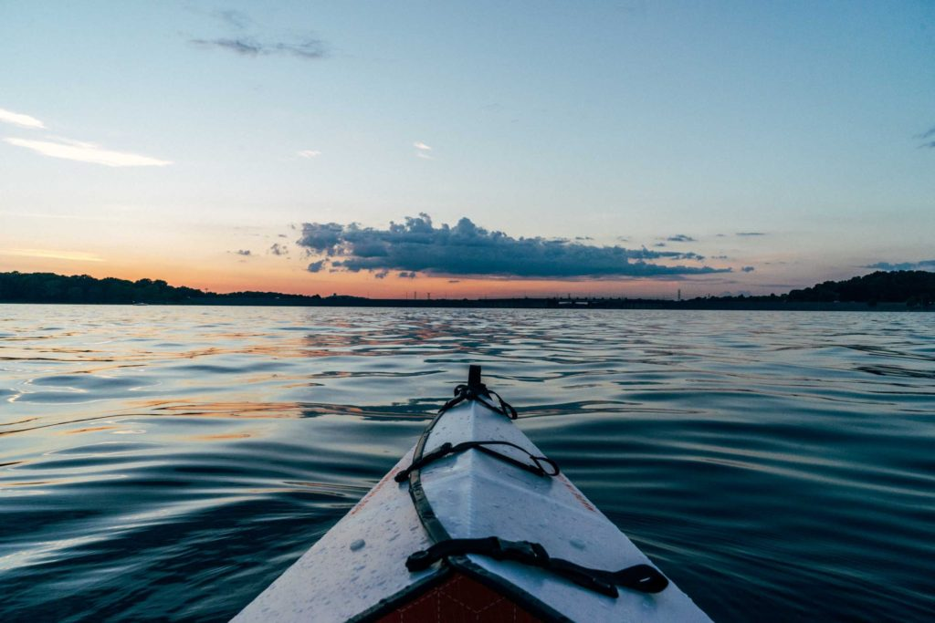 Breaking News: Realtor Finally Has Time to go Kayaking